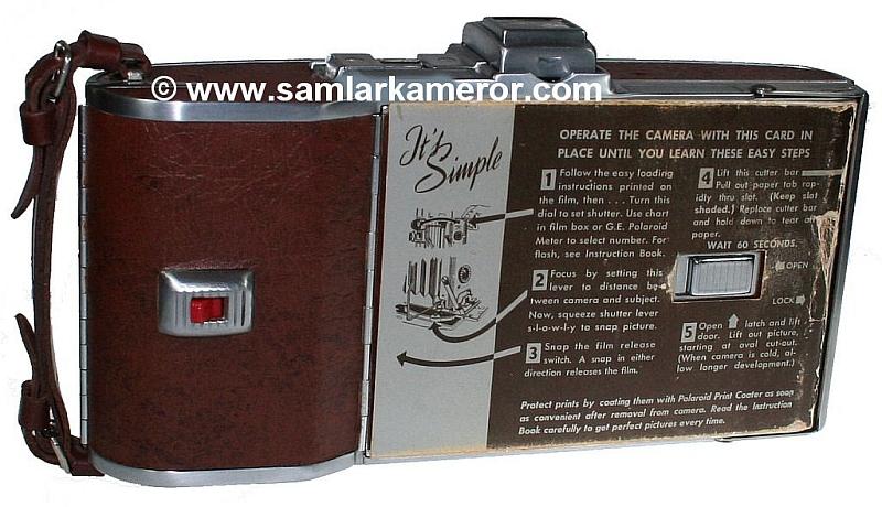 """Polaroid Land Camera Model 95A """"Speedliner"""""""