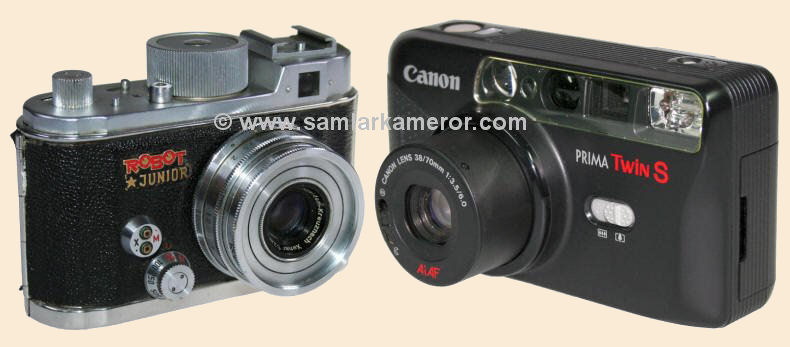 Canon Prima Super 135 N Autofokus-kamera Analogkameras